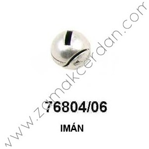 MAGNETIC CLASP ROUND FLAT INNER 6