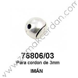 MAGNETIC CLASP ROUND ROUNDED INNER 3