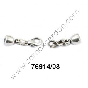 CLASP ROUND  CHAIN & LOBSTER INNER 3