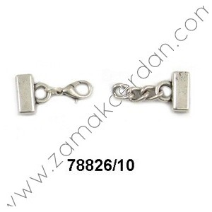 CLASP FLAT CHAIN & LOBSTER INNER 10