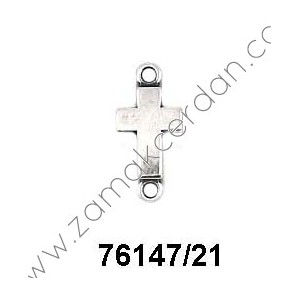 SLIDER BEAD/CONNECTOR CROSS SMALL