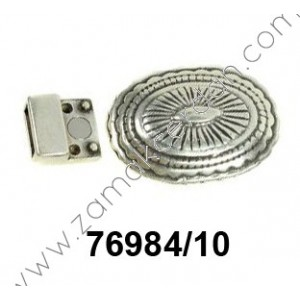 MAGNETIC CLASP OVAL