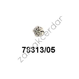 SLIDER BEAD FLOWER SMALL  FLAT