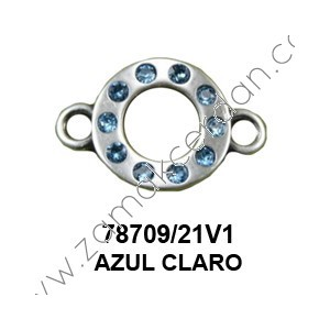 CONNECTOR SWAROVSKI BLUE
